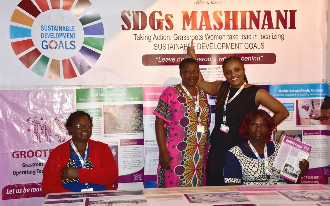 Grassroots Actions to localise the SDGs and the New Urban Agenda