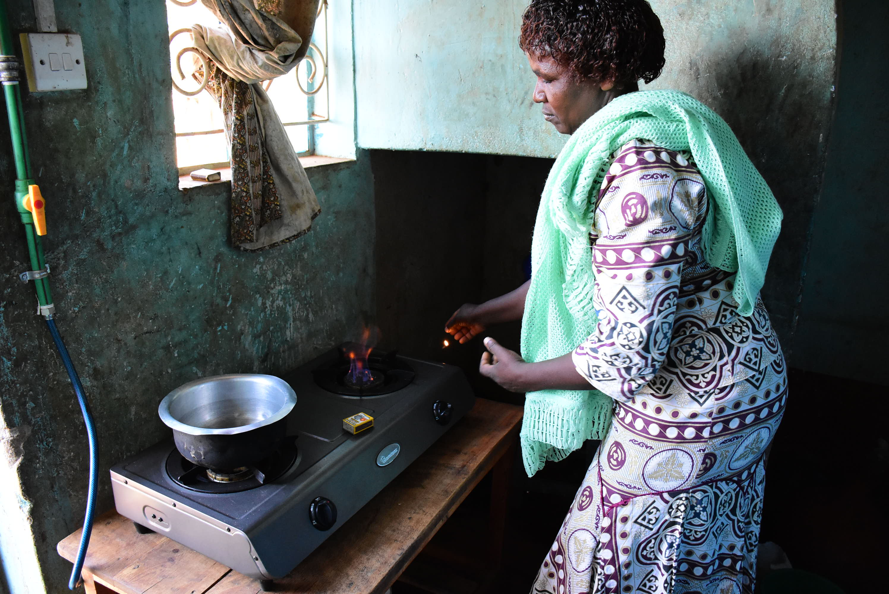 Women and girls are also vulnerable to violence when gathering wood and other cooking fuels, leaving them to face the impossible choice between protecting their personal safety or feeding their families.